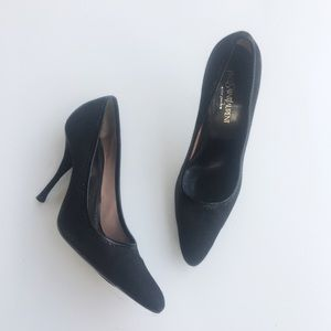 Yves Saint Laurent Vintage Black Heels 7.5